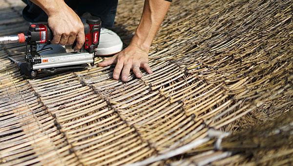 伝統的竹垣職人《片岡大輔》竹のある空間デザイナー