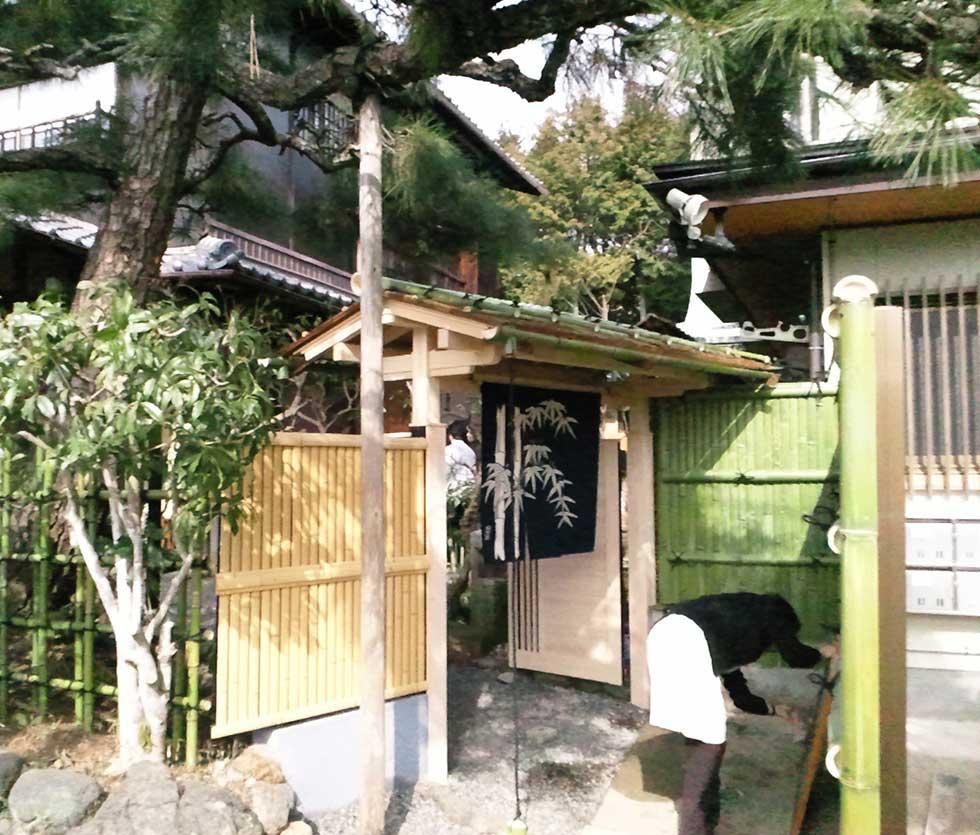 竹垣のリニューアル・リフォーム