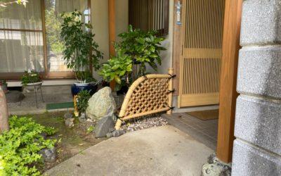 白竹玉袖垣|竹垣・竹フェンス