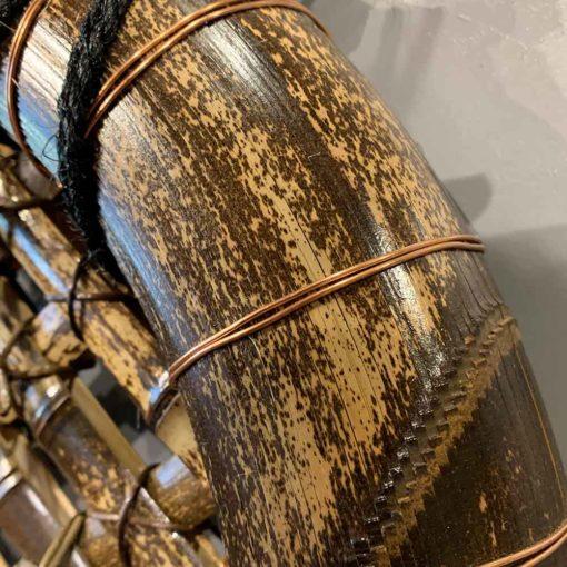 寅竹玉袖垣 美しい柄は天然竹ならではです。