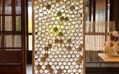 竹之助オリジナルデザイン竹パーティション