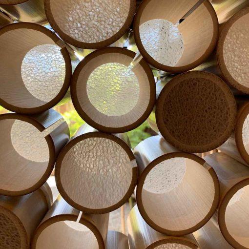 越前和紙の新たなる可能性と竹の融合